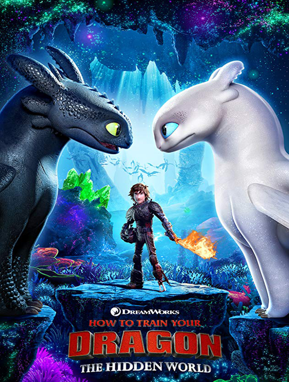 2019 Summer Kids Movie Series How To Train Your Dragon The Hidden